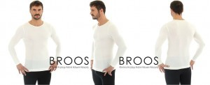 Koszulka Brubeck Wool Long-Sleeved LS11600