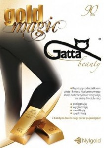 Rajstopy Gatta 3D Gold Magic 90 den