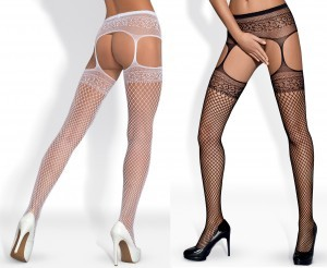 Garter stockings Obsessive S-502