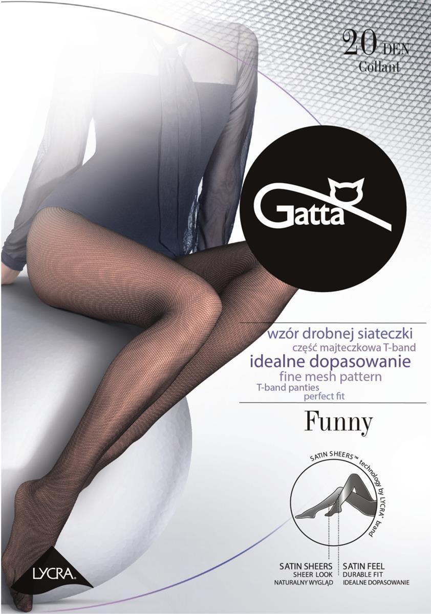 e8e9a9df79d258 Rajstopy Gatta Funny 20 den - BROOS sklep online
